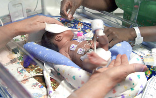 SWFL Children's Charity NICU patient by Priority Marketing