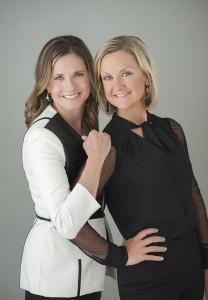Debbie Toler and Christin Collins