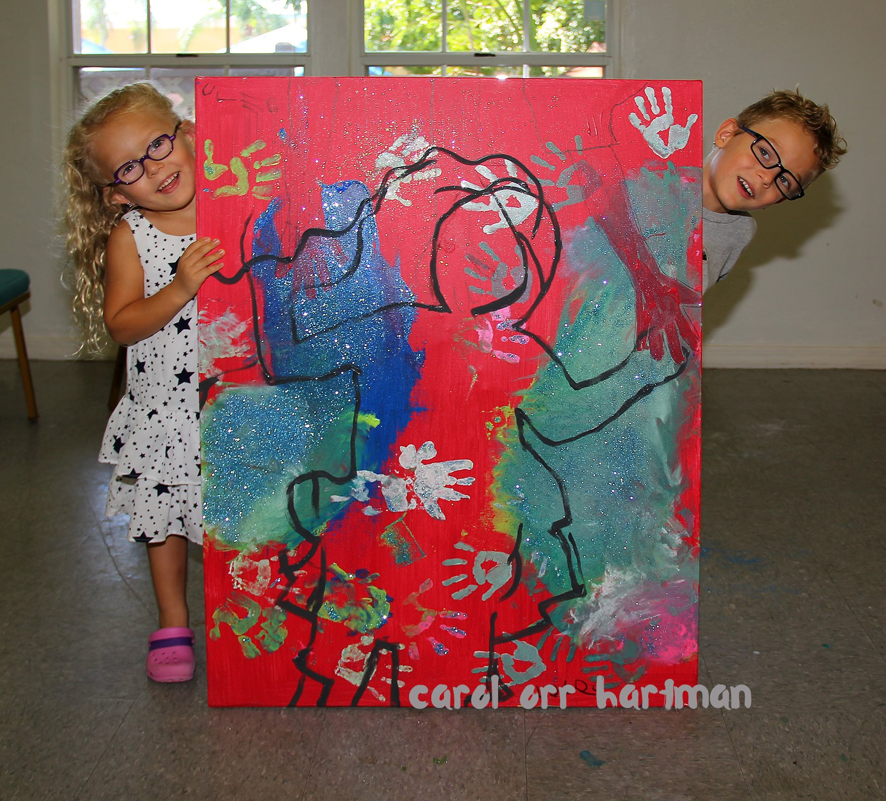 SWFL Children's Charities, Inc. introduces 2017 Child Artists, Leo and Lola Grabinski