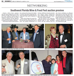 Southwest Florida Wine and Food Fest auction preview